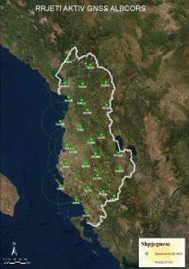 Rrjeti aktiv GNSS Albcors
